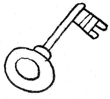 Картинка раскраска золотой ключик